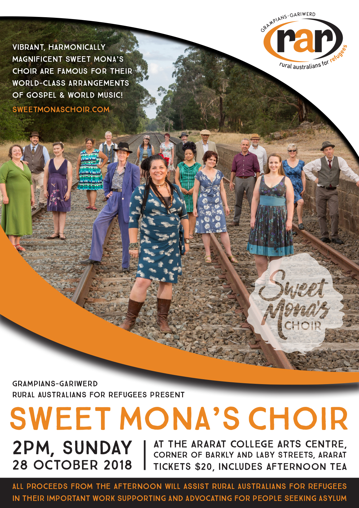 Sweet Mona's Choir | Harmonically Magnificent